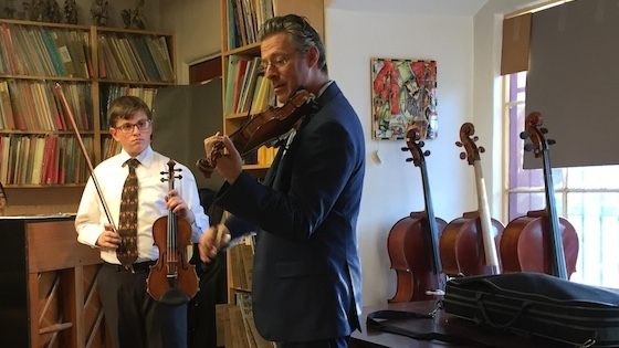 Master Class with Lorenz Gamma at Metzler Violins