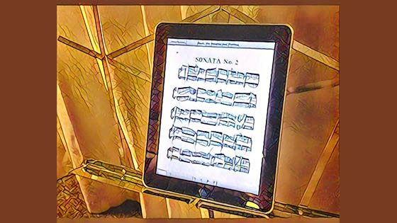 V.com Weekend Vote: Do you ever use digital sheet music and readers? And is this the last stand for the printed score?