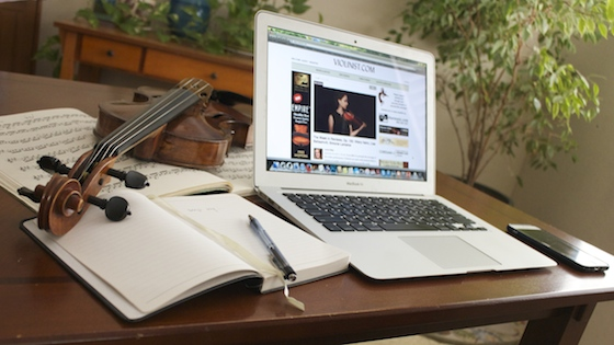 How to write a blog on Violinist.com