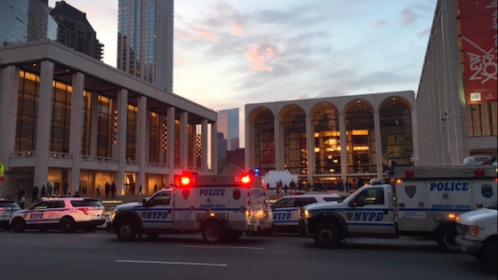 Man Sprinkles Ashes into Met Orchestra Pit; Opera Cancelled