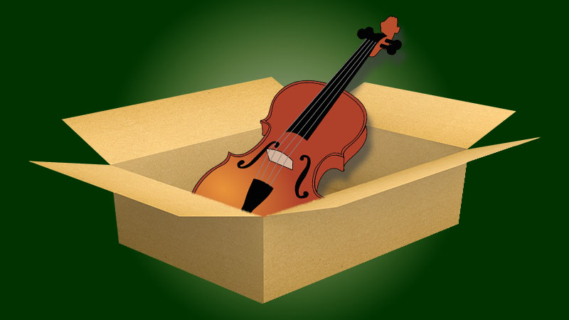 V.com weekend vote: Have you ever bought a violin without being able to try it first?