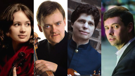Augustin Hadelich, Patricia Kopatchinskaja, Frank Peter Zimmermann and Roberto Díaz nominated for 2018 Grammys