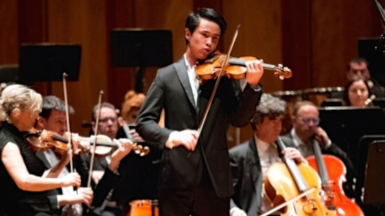 American Violinist Kevin Zhu, 17, wins the 55th Paganini International Violin Competition 2018