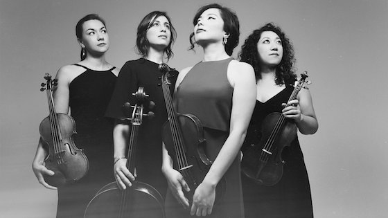 Aizuri Quartet Wins $100,000 M-Prize; Kairos String Quartet Wins Junior Strings