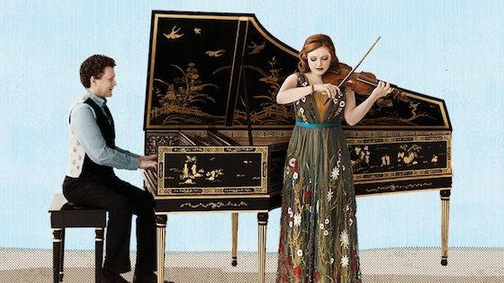 For the Record, Op. 55: Rachel Barton Pine Bach Sonatas Violin/Harpsichord; Blake Pouliot debut album; works by Carl Roskott