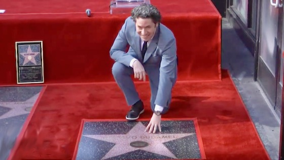 LA Phil Conductor Gustavo Dudamel's Star Joins Hollywood Walk of Fame