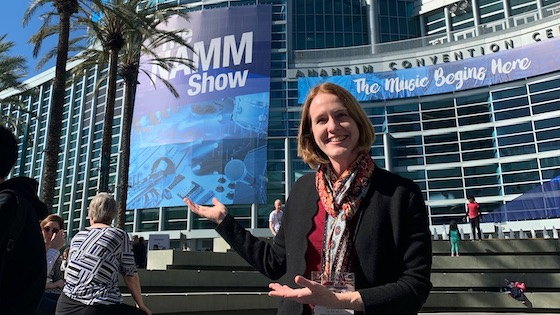 Scenes from the NAMM Show 2019 in Anaheim