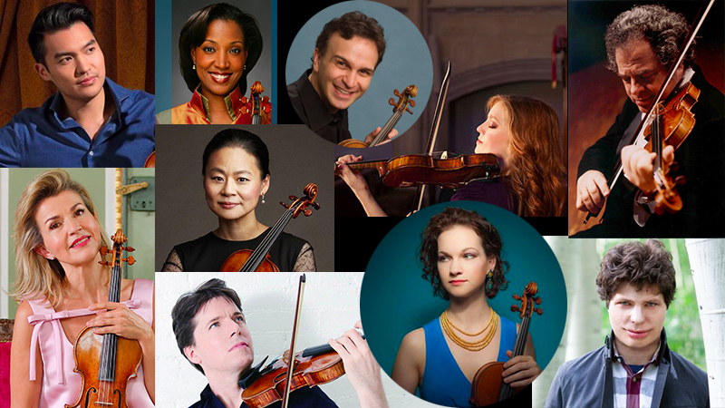 Here's Where to Find Concert Date Calendars for Classical Violinists