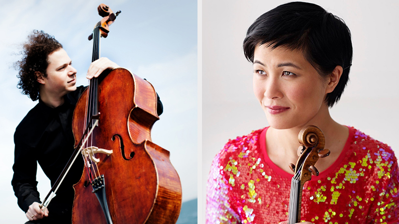 For the Record, Op. 139: Jennifer Koh; cellist Matt Haimovitz