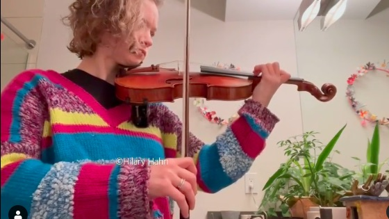 100 Days of Practice with Hilary Hahn