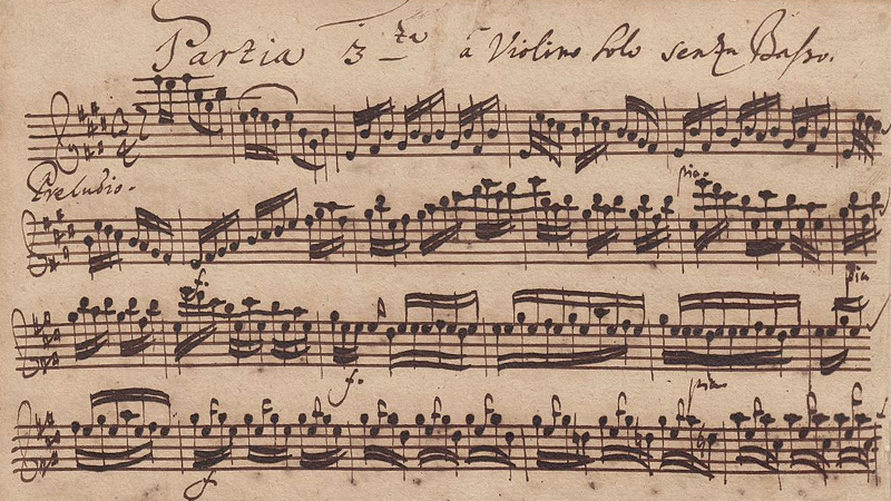 Bach Preludio: an Amiable Stroll?