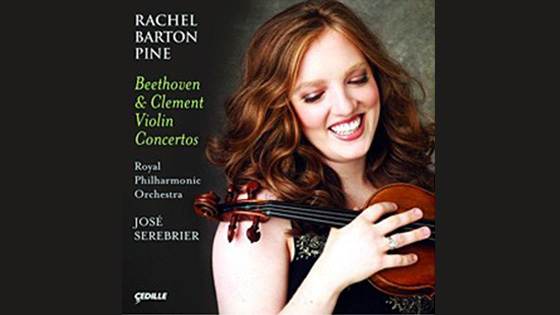 Rachel Barton Pine talks about the Beethoven and Clement violin concertos