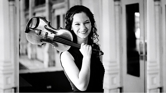 Violinist.com interview with Hilary Hahn