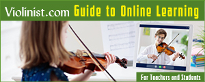 Violinist.com Guide to Online Learning